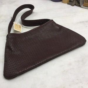 NWT Burgundy Leather Purse